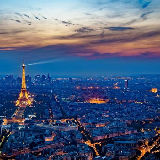 Paris Night View