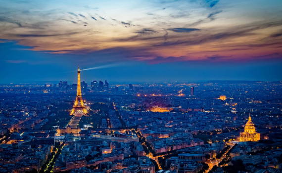 Paris Night View